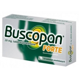 Buscopan Forte 20mg 10tabletek