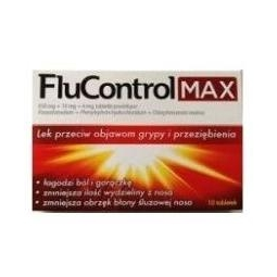 Flucontrol Max 10tabletek