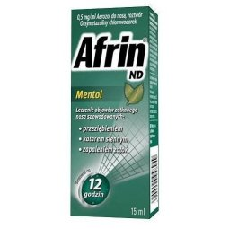 Afrin ND Menthol 15ml