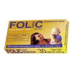Folic Acid Uniphar 30tabletek