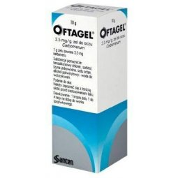 Oftagel żel do oczu 10g