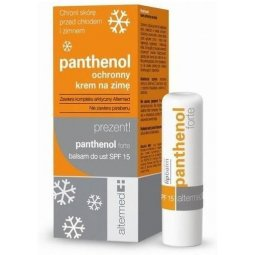 Panthenol krem ochronny na zimę 50ml + balsam do ust spf 15 5ml