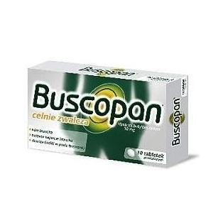 Buscopan 10mg 10tabletek