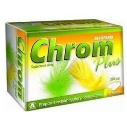 Chrom Plus 50 tabletek Aflofarm