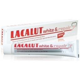 Lacalut White and Repair Pasta do remineralizacji zębów 75ml