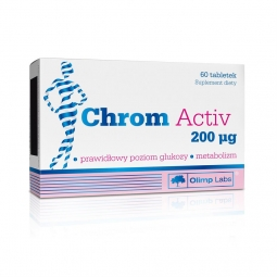 Olimp Chrom Activ 200mcg 60tabletek
