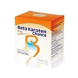 Beta Karoten Chance 10mg 100tabletek