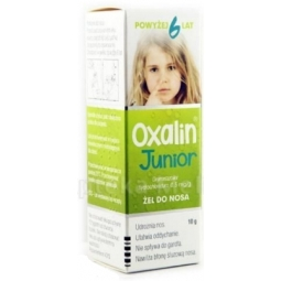 Oxalin Junior 0,05% żel do nosa 10g