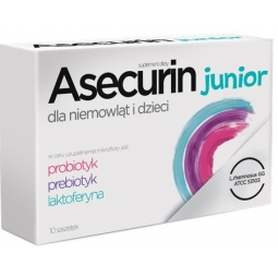 Asecurin Junior 10saszetek