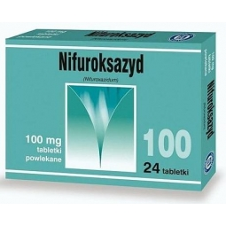 Nifuroksazyd 100mg 24tabletek Hasco