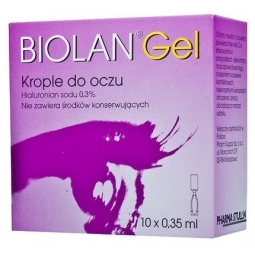 Biolan Gel 0,3% Krople do oczu 10minimsów