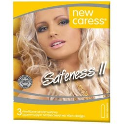 Prezerwatywy New Caress Safeness II 3sztuki
