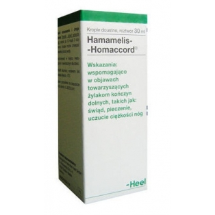 Heel Hamamelis-Homaccord Krople 30ml